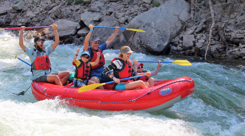 Rafting in Sun Valley Idaho
