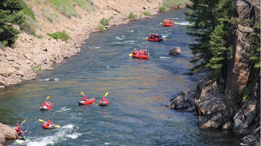 kayak trips on the Salmon river