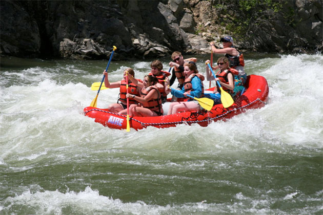 Raft the Salmon River