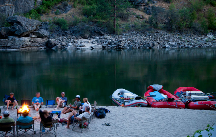 Idaho Raft Trips Main Salmon Family River Rafting
