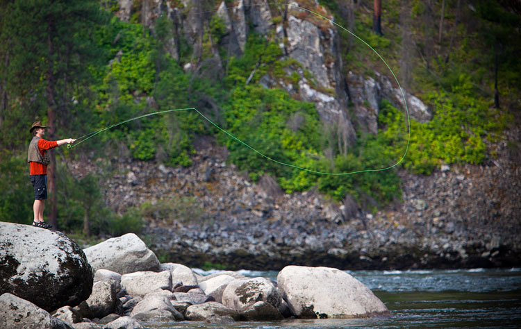 Sun Valley Stanley Idaho Fly fishing on the Salmon River
