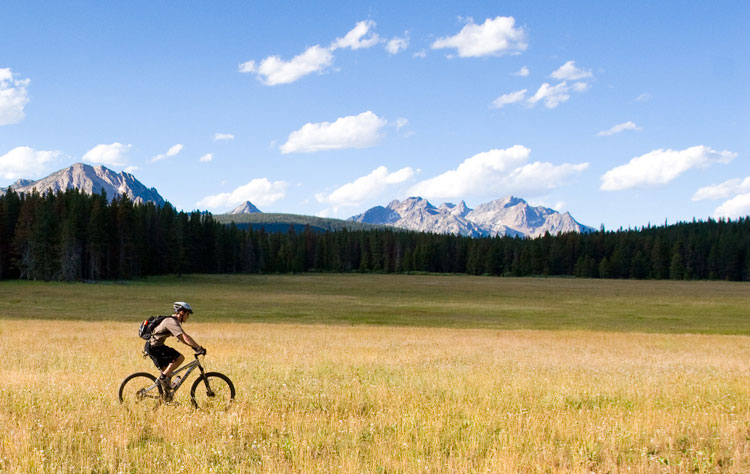 Stanley Idaho Mountain Biking in the Sawtooth Mountains