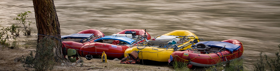 River Rafting in Idaho on the Salmon River