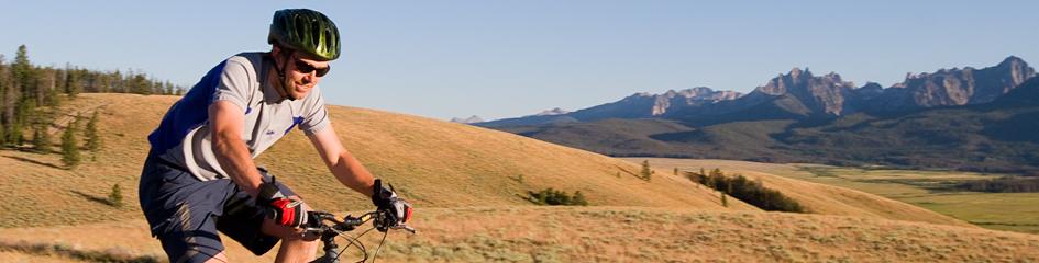 Idaho Mountain Biking in the Sawtooth Mountains