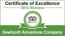 Sawtooth Adventure does it again.  2nd rear in a row!